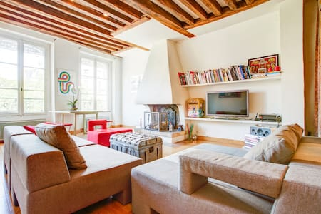 Paris Magic Loft - Clean and Safe - up to 5 people