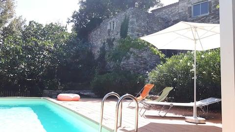 Studio gîte appartement de charme + piscine @Uzès