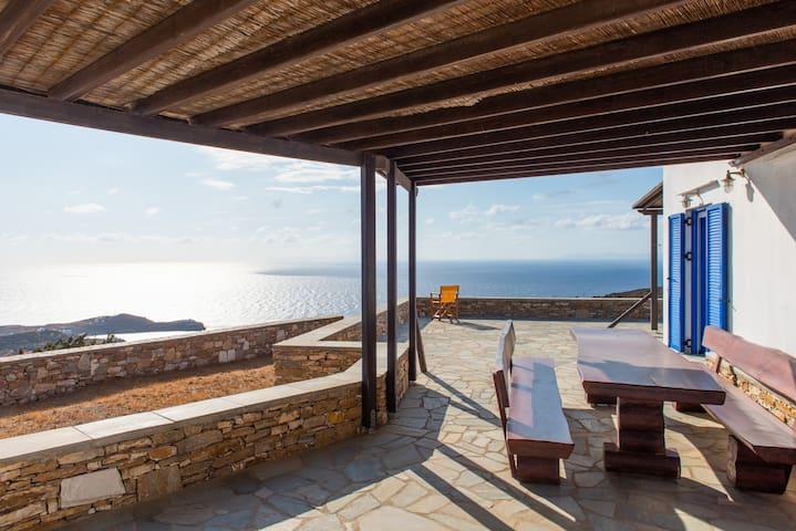 Sifnos Cyclades Panorama