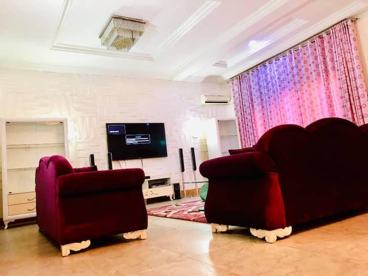Multipurpose penthouse hosted Nollywood's  Ini Edo