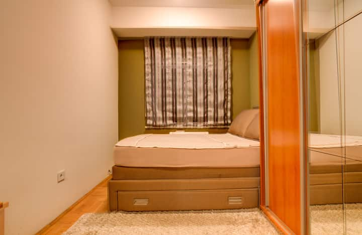Delta City Double Room in Modern Area