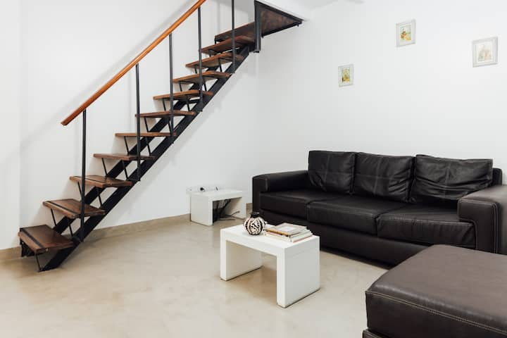 Spacious Loft w/Rooftop Terrace & BBQ Palermo Soho