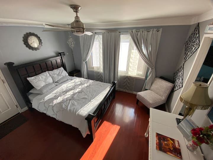 Master Bedroom w/ Private Entrance by Bella Terra