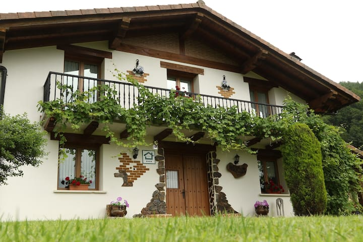 Amaiur Landetxea, casa rural en plena naturaleza