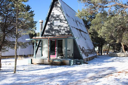Sparkling-Clean Remodeled A-Frame Sleeps Six
