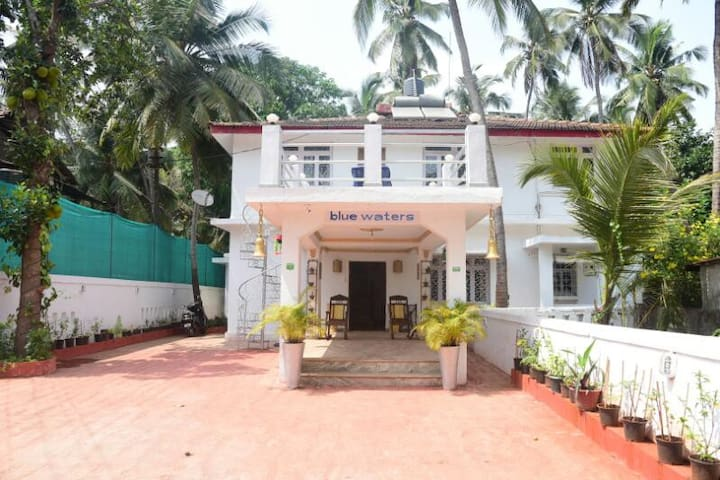 Bluewaters House near Calangute - North Goa - Hus