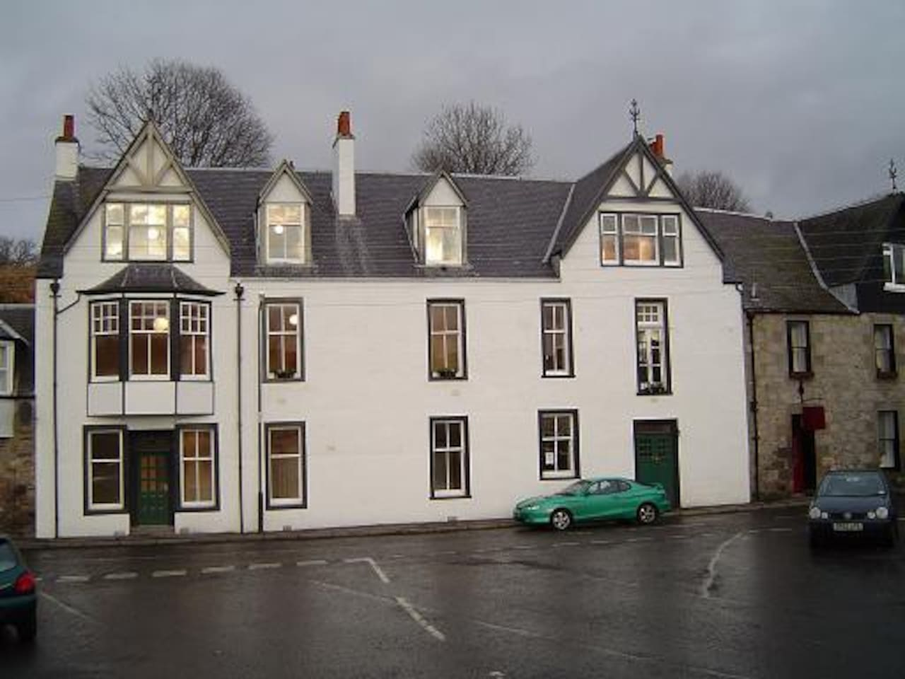 Kirkmichael Apartments converted from traditional coaching Inn in the heart of the village