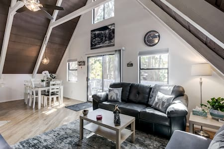 Luxury A-Frame cabin! Remodeled! A Hidden Gem!