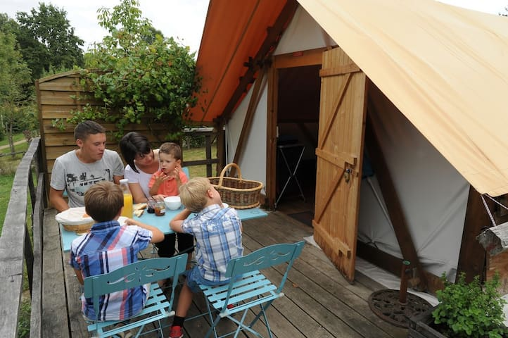 Le camp des trappeurs - Moncoutant