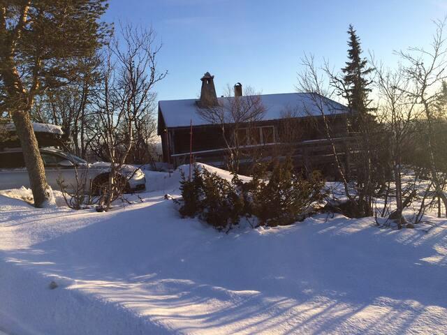 Fantastiskt 10+2bädds stuga i Klövsjö