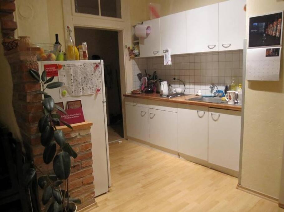 kitchen, heat, refrigerator