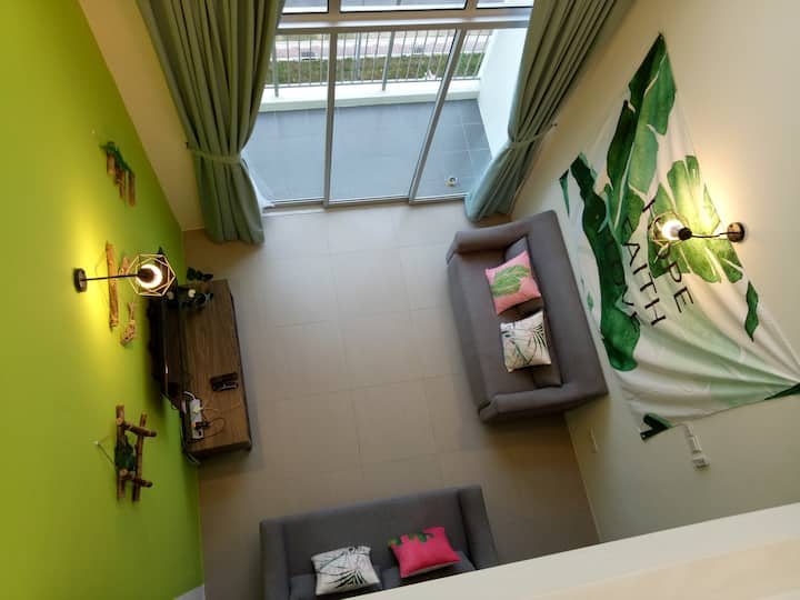 Misty Forest 3rooms Next to Night Market 10-14 pax