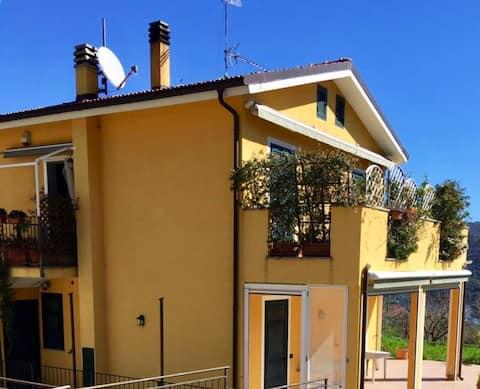 Casa Mimosa, Schönes Haus in der Nähe des Meeres