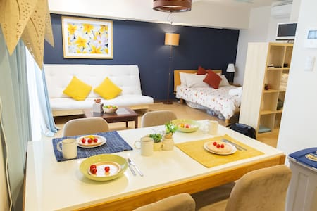 [M4B] 5 min to Sta. Shinjuku!! Bright New Studio