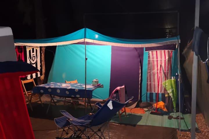 carrello tenda