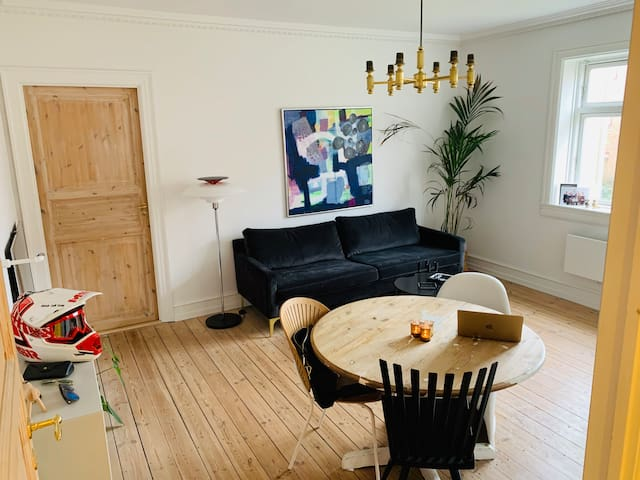 Perfect cozy apartment for visiting CPH!
