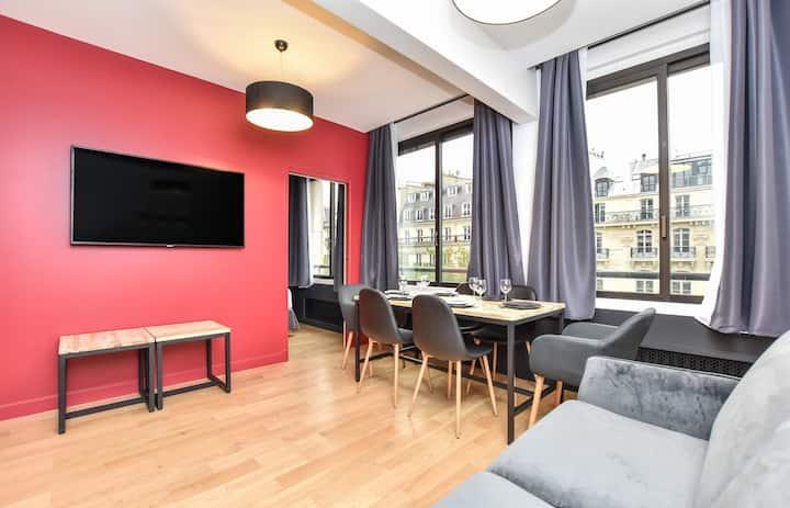 Superbe appartement 2BR/6P -Opéra -Center of Paris