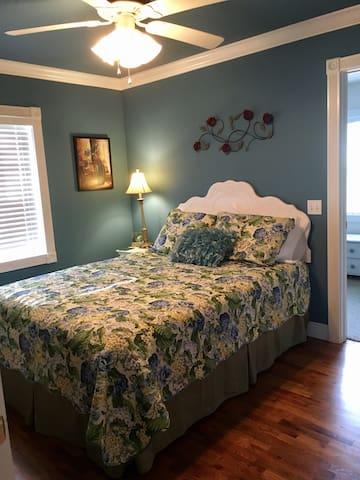 Queen Bed in Primary bedroom