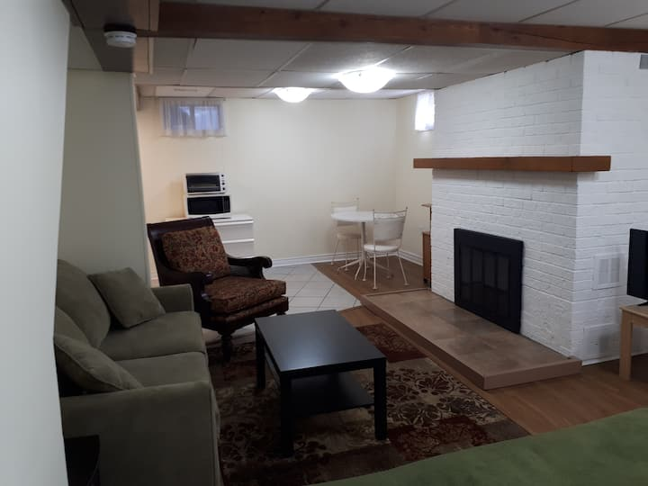 Bright Furnished Renovated  Private Bachelor Apt.