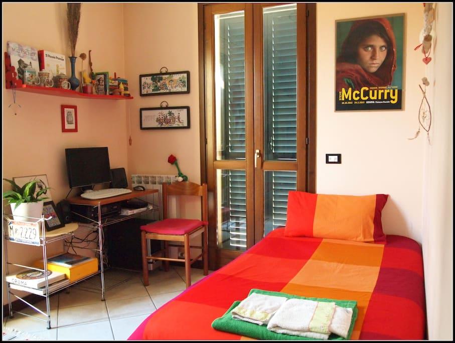 Divano letto per 1 persona aggiuntiva in stanza condivisa open space