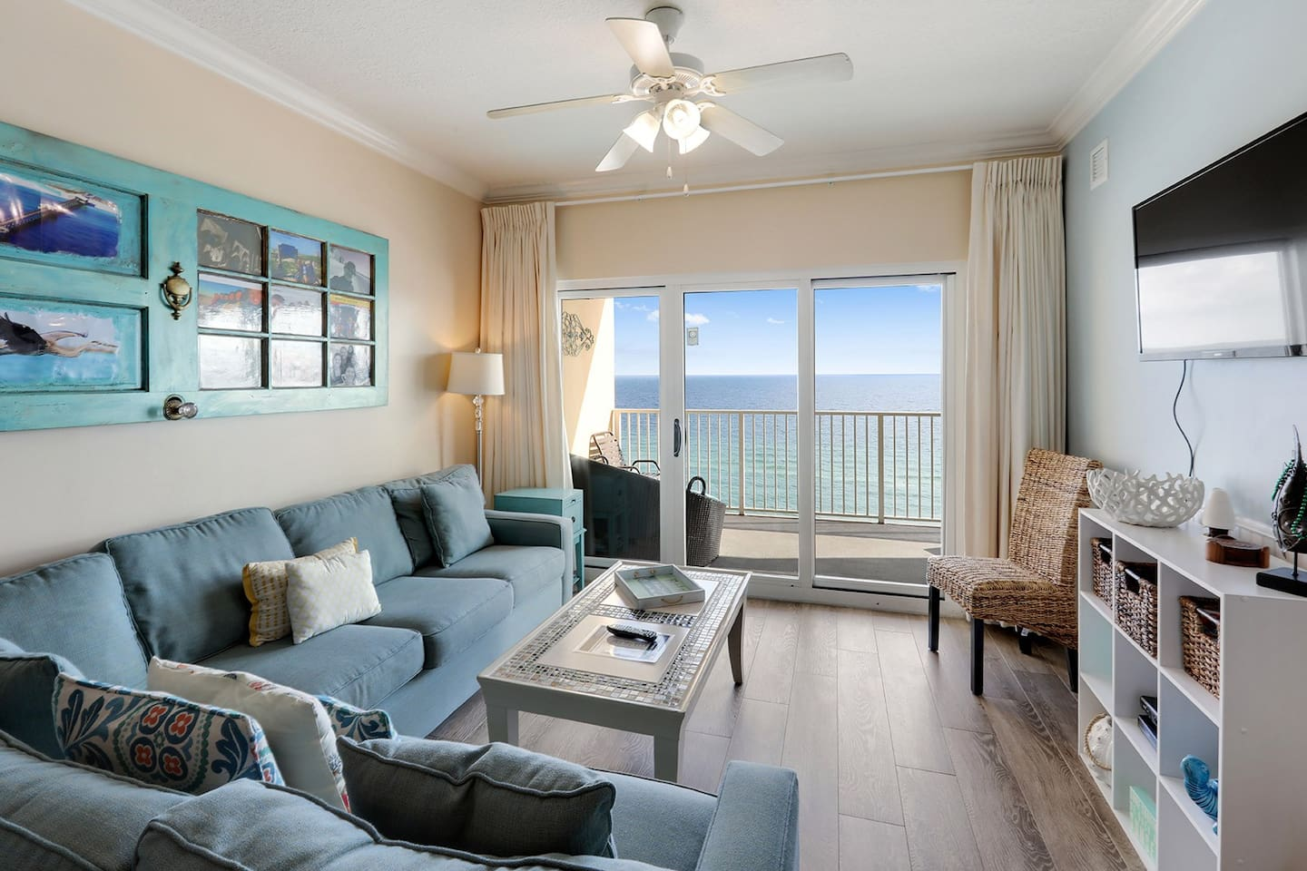 Unit 1208 is elegantly appointed with amazing views