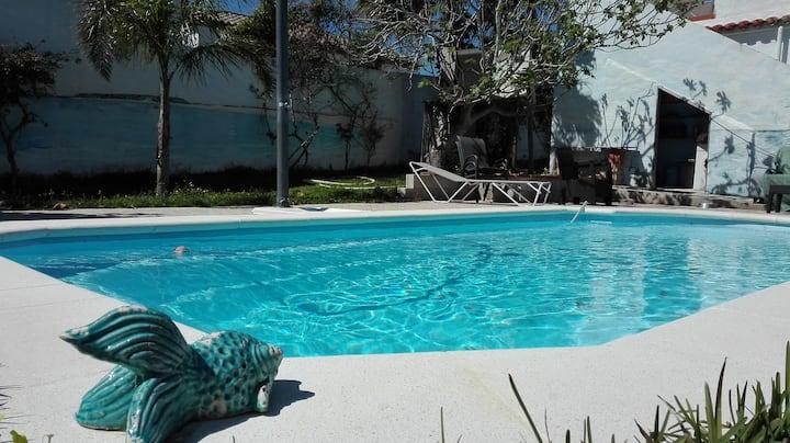 suite con piscina directa