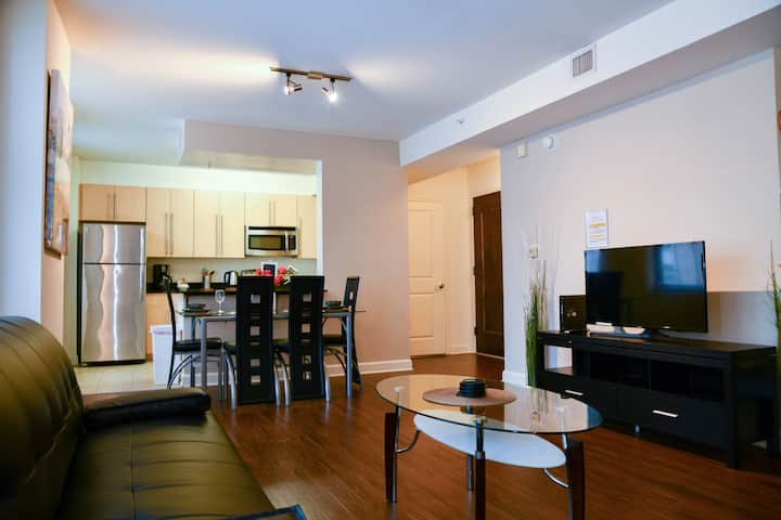 2 Bedroom Fully Furnished Apt. near Harbor East