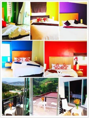 Patong Cliff Inn(Sea View) - Tambon Patong - Daire