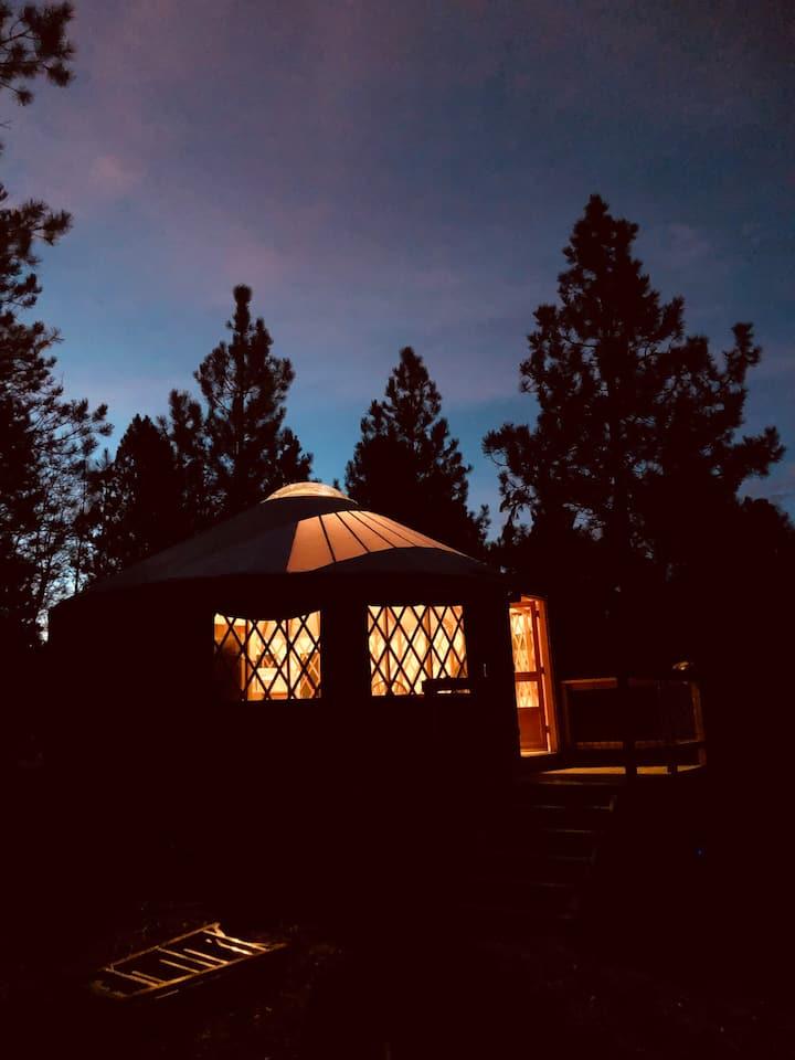 Moon Yurt