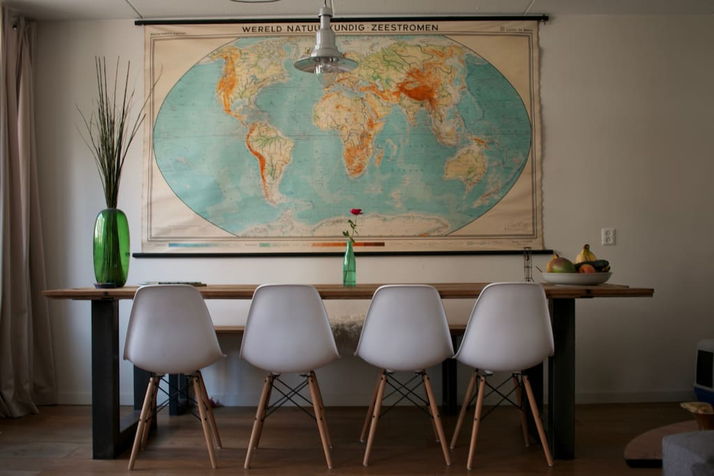Relax after a great day in Amsterdam & secretly plan your next world destination