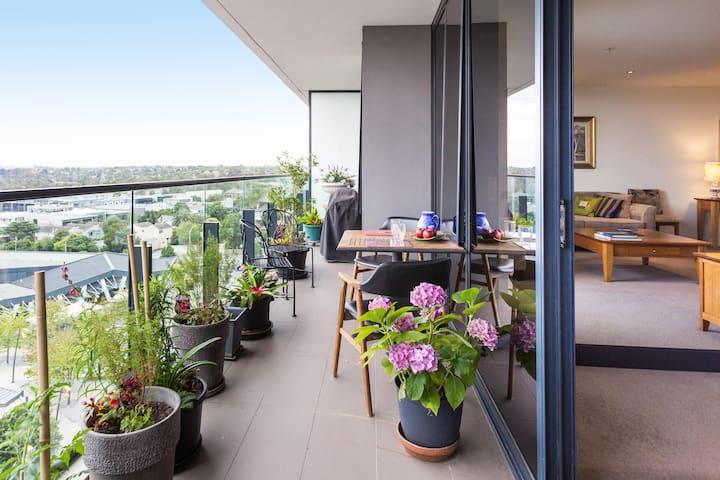 Luxury 2 BR apartment close to Melb - Glen Iris - Apartment