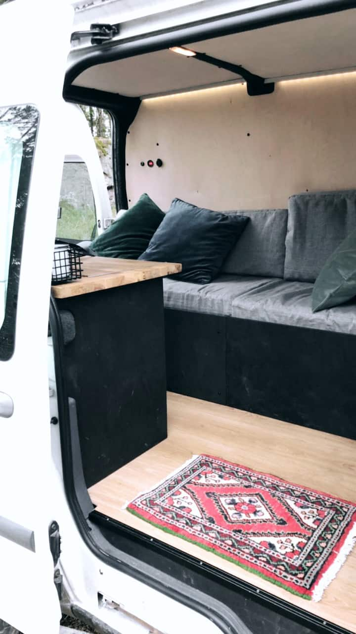 Discover the wilderness with an urban camper