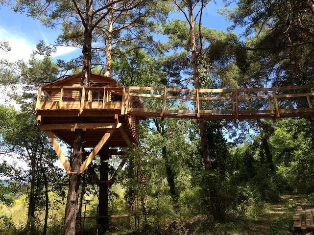 La cabane de Camille - Beynes - Blockhütte