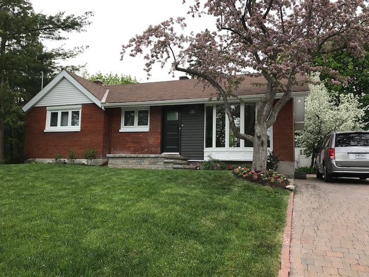 Fully renovated Pointe Claire home.