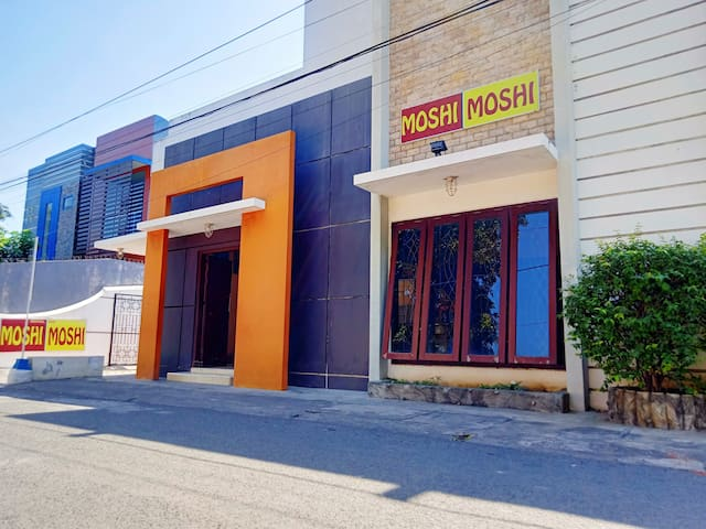 Comfy Bed at Moshi-Moshi