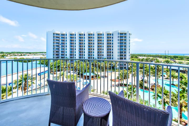 Lagoon Pool! Gulf Views ☀Inspected & Disinfected☀ Palms Resort 2611 Jr. 2BR