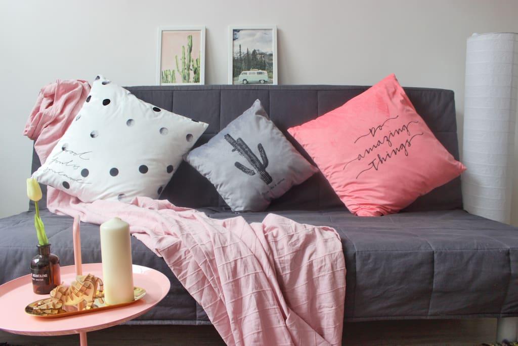 一楼客厅 宜家沙发
