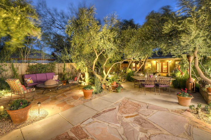 Garden Oasis in the Heart of Tucson