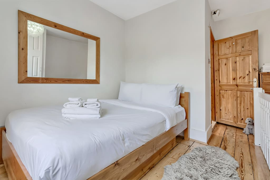 My property has everything you need; a comfortable double bed...