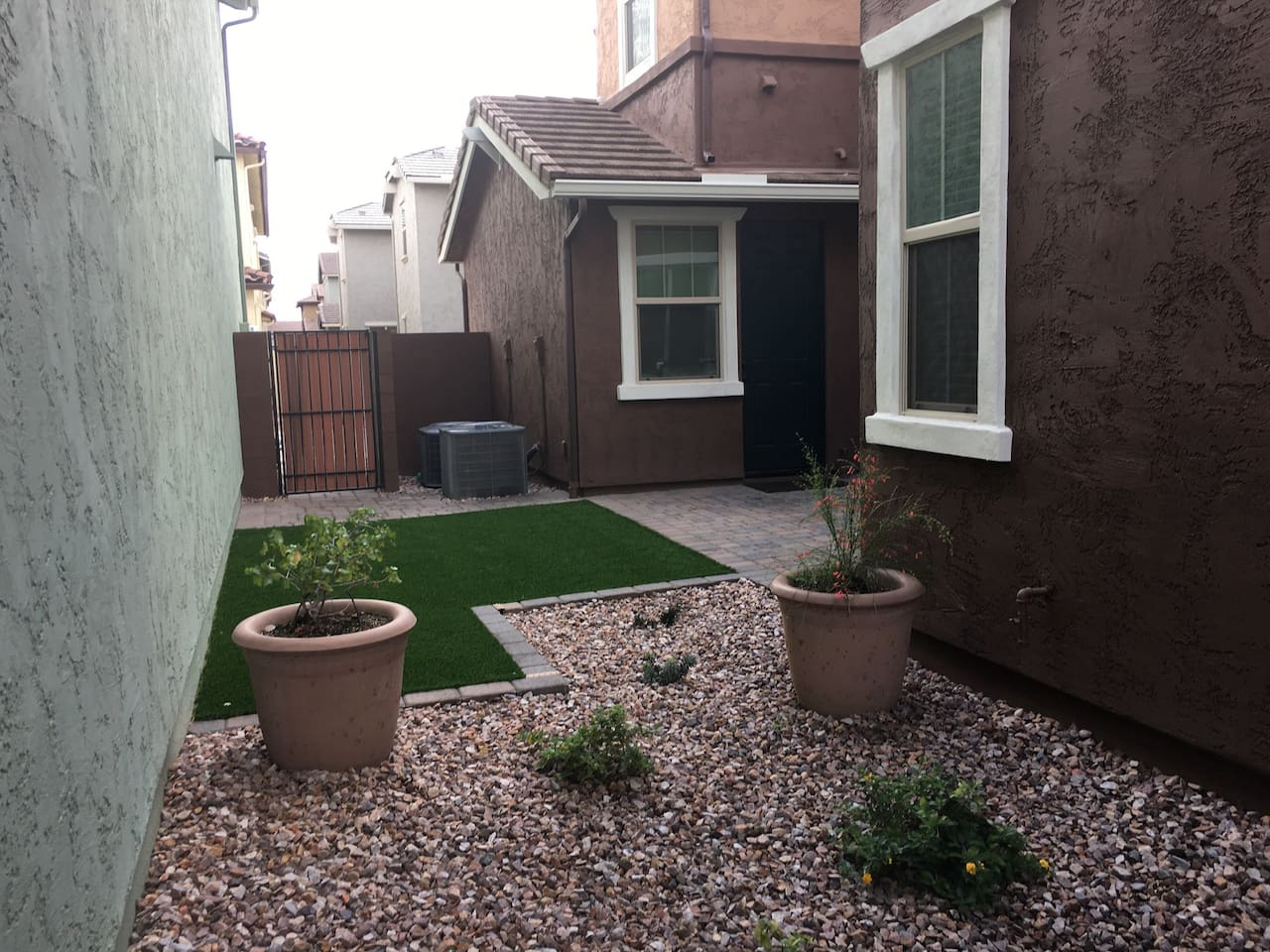 View of your private separate entrance from the garden.