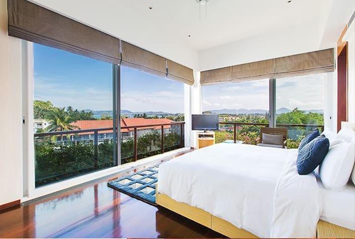 Stunning 5 Star Surin Beach 2Bed Seaview Penthouse - Tambon Choeng Thale - Daire