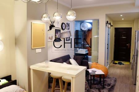 【Romantic!】新房源GET!无锡北欧精致温馨小公寓~轻奢时尚,甜蜜浪漫~
