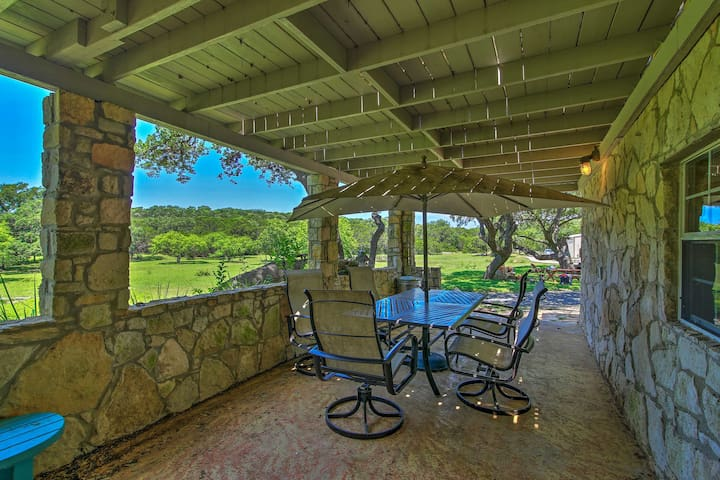 You'll find endless outdoor entertainment at this cottage.