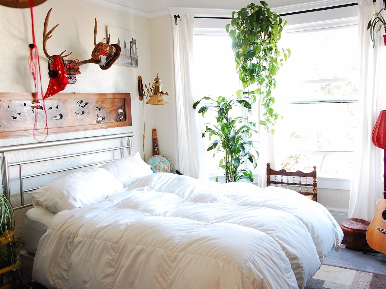Golden Gate - a bright and sunny room filled with greenery and sunshine!
