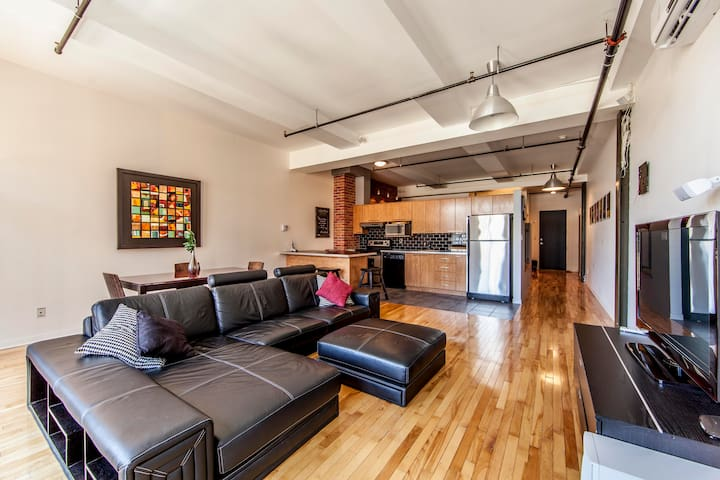 LUXURY RESTORED old port Loft - Montréal - Loft