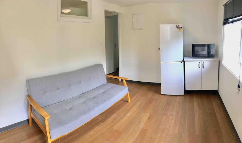 Self-contained unit in city centre!