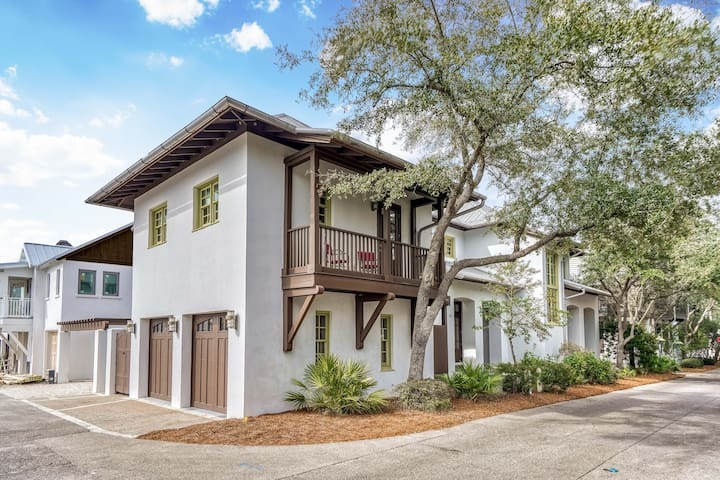 `Rosemerry Cottage` Luxury Rosemary Beach Carriage House + FOUR Community Pools + FREE Bikes