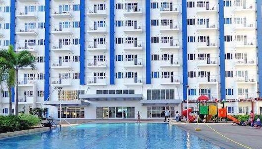Fully Furnished 1BR  unit w/ Balcony @ SMDC Light - Mandaluyong - Appartement en résidence