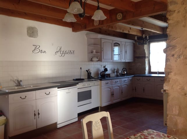 Charming Charentes farmhouse Chouette Blanche - Passirac - Huis