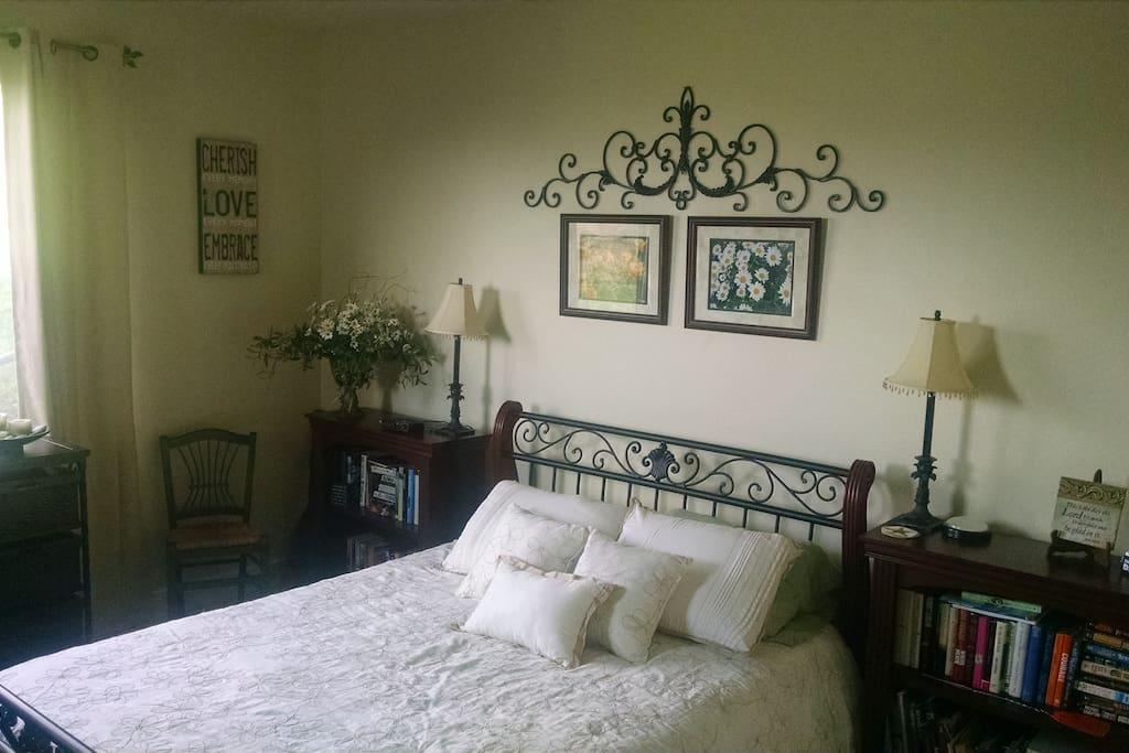 Nice soft bed!!